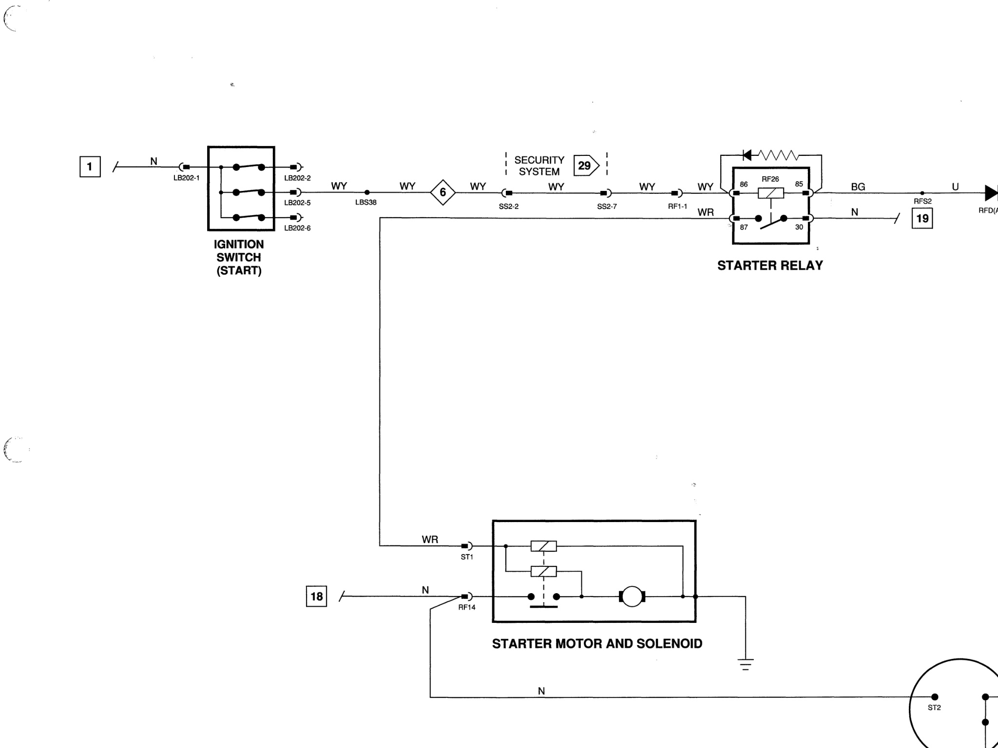 Adding Starter Bump Switch - Xj-s