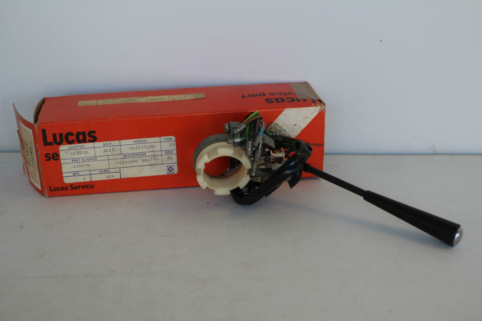 Horn  Flasher  Directional Switch - E-type