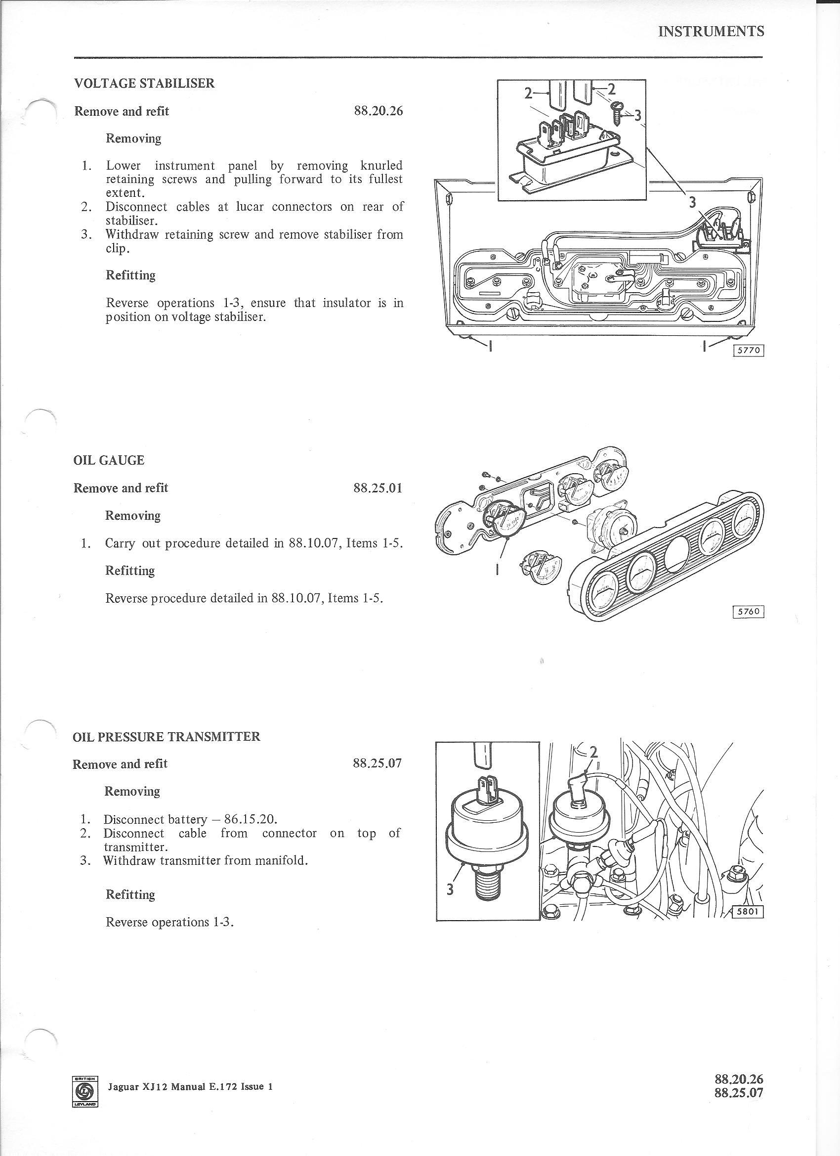 78 Xj6l Voltage Stabilizer - Xj
