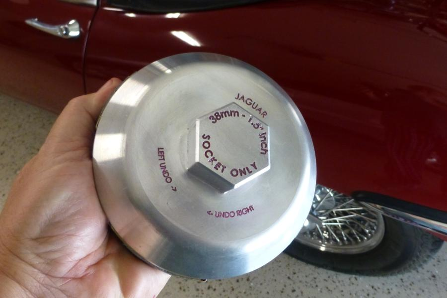 Wire Wheel Tool | Wrong Wire Wheel Spinners E Type Jag Lovers Forums
