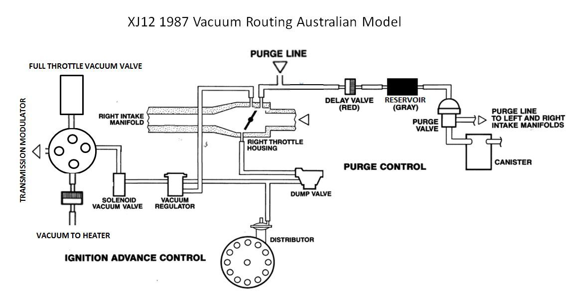 Jaguar Vacuum Diagram - Wiring Diagram M4 on
