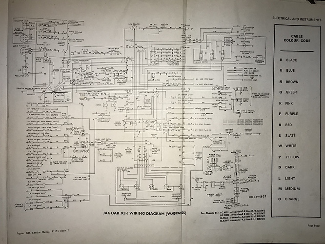 Wiring problem on 1972 XJ6 - XJ - Jag-rs Forums on 2001 jeep grand cherokee tail light diagram, turn signal diagram, jeep 4.0 vacuum diagram, circuit diagram, lamp diagram, tail light assembly, tail light cover, light switch diagram, 2003 dodge neon transmission diagram, dolphin gauges speedometer diagram, scotts s2048 parts diagram, 1996 volvo camshaft diagram, brake light diagram, tandem axle utility trailer diagram, dodge 1500 brake switch diagram, chevy tail light diagram, isuzu npr battery connection diagram, bass tracker ignition switch diagram, led light diagram, fuse diagram,